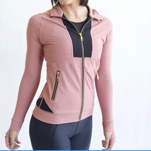 Zyia Active Jackets & Blazers - Zyia Active Pink Awareness All Around Jacket